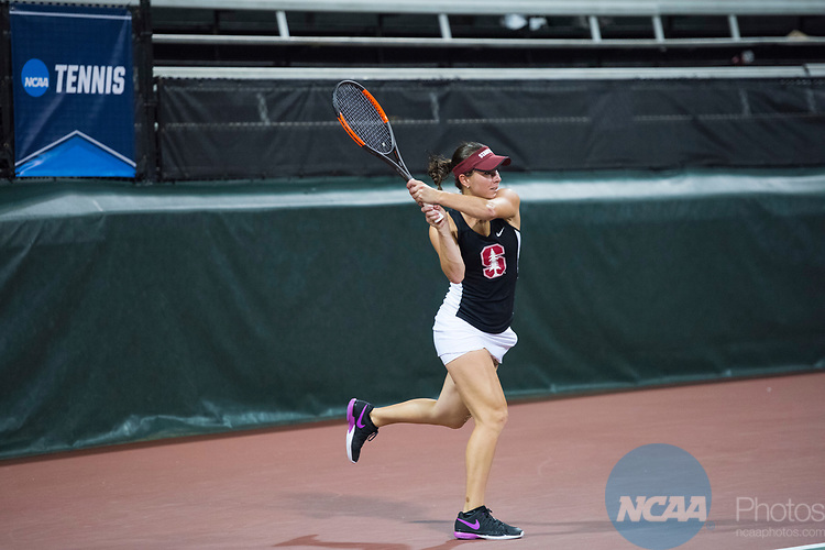 ATHENS, GA - MAY 23: Caroline Doyle of Stanford University competes in the Division I Women's Tennis Championship held at the Dan Magill Tennis Complex on the University of Georgia campus on May 23, 2017 in Athens, Georgia. (Photo by Steve Nowland/NCAA Photos via Getty Images)