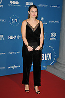 Liv Hill at the British Independent Film Awards (BIFA) 2018, Old Billingsgate Market, Lower Thames Street, London, England, UK, on Sunday 02 December 2018.<br /> CAP/CAN<br /> &copy;CAN/Capital Pictures