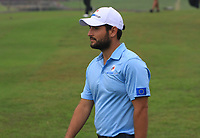 Alexander Levy (Europe) on the 3rd fairway during the Saturday Foursomes of the Eurasia Cup at Glenmarie Golf and Country Club on the 13th January 2018.<br /> Picture:  Thos Caffrey / www.golffile.ie