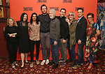 Carole Rothman, Young Jean Lee, Ty Defoe, Armie Hammer, Tom Skerritt, Paul Schneider, Kate Bornstein, Josh Charles, Anna D. Shapiro attends photo call for the Second Stage Theatre Company production of 'Straight White Men'  at Sardi's on June 14 30, 2018 in New York City.