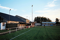 General view of Carterton Town FC Football Ground, Kilkenny Lane, Carterton, Oxfordshire, pictured on 28th December 1993