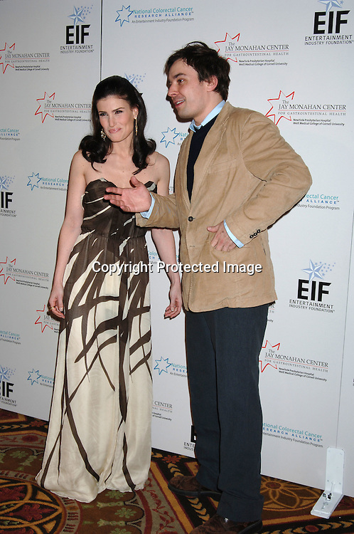 Idina Menzel and Jimmy Fallon ..at The Entertainment Industry Foundation National Colorectal Cancer Research Alliance and The Jay Monahan Center for Gastrointestinal Health Hollywood Meets Motown Benefit on March 15, 2006 at The Waldorf Astoria Hotel. ..Robin Platzer, Twin Images