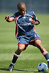 17 June 2007: New England's Marshall Leonard. The New England Revolution Reserves defeated the Columbus Crew Reserves 2-1 on the Gillette Stadium practice field in Foxboro, Massachusetts in a Major League Soccer Reserve Division game.