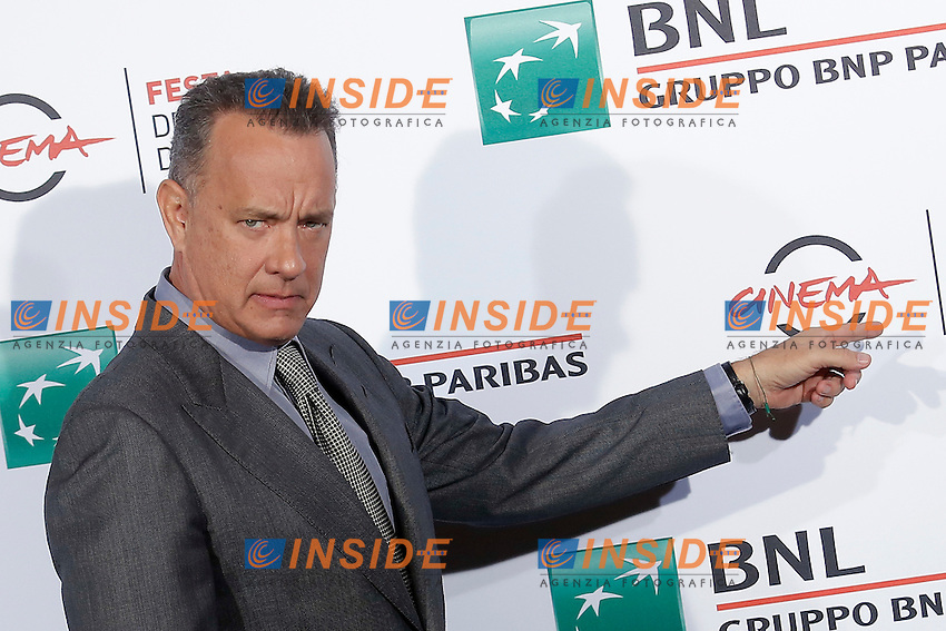 Tom Hanks<br /> Roma 13-10-2016. Festa del Cinema di Roma XI edizione<br /> Rome 13th October 2016. Rome Film Fest XI edition.<br /> Foto Samantha Zucchi Insidefoto
