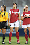 22 November 2013: Arkansas' Allie Tripp (2). The University of Arkansas Razorbacks played the Saint John's University Red Storm at Koskinen Stadium in Durham, NC in a 2013 NCAA Division I Women's Soccer Tournament Second Round match. Arkansas won the game 1-0.