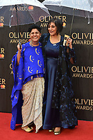 Meera Syal<br /> The Olivier Awards 2018 , arrivals at The Royal Albert Hall, London, UK -on April 08, 2018.<br /> CAP/PL<br /> &copy;Phil Loftus/Capital Pictures