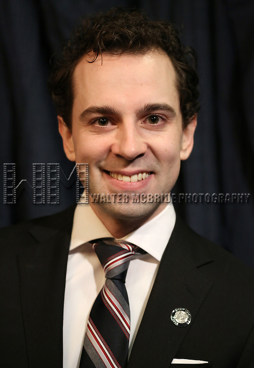 Rob McClure  'In The Spotlight' at the 2013 Tony Awards Meet The Nominees Junket  at the Millennium Broadway Hotel in New York on 5/1/2013...