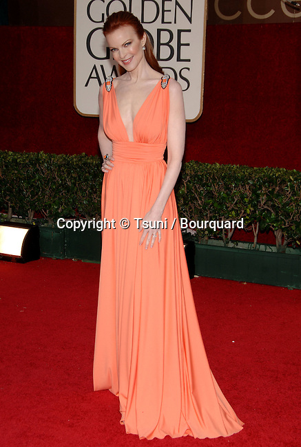 Marcia Cross arriving at the Golden Globes Awards at the Beverly Hilton Hotel in Los Angeles. January 16, 2006.