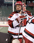 Ryan Grimshaw (Harvard - 6) - The Union College Dutchmen defeated the Harvard University Crimson 2-0 on Friday, January 13, 2011, at Fenway Park in Boston, Massachusetts.