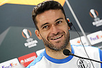 Getafe's Jorge Molina in press conference after training session. February 19,2020.(ALTERPHOTOS/Acero)