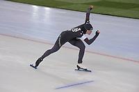 SPEEDSKATING: HAMAR: Vikingskipet, 28-02-2020, ISU World Speed Skating Championships, Sprint, 1000m Ladies, Kimi Goetz (USA), ©photo Martin de Jong
