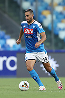 Nikola Maksimovic of Napoli in action during the Serie A football match between SSC  Napoli and SPAL at stadio San Paolo in Naples ( Italy ), June 28th, 2020. Play resumes behind closed doors following the outbreak of the coronavirus disease. <br /> Photo Cesare Purini / Insidefoto