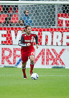 22 October 2011: Toronto FC midfielder Torsten Frings #22 in action during a game between the New England Revolution and Toronto FC at BMO Field in Toronto..The game ended in a 2-2 draw.