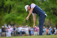 Rory McIlroy (NIR) reacts to barely missing his birdie putt on 1 during day 3 of the WGC Dell Match Play, at the Austin Country Club, Austin, Texas, USA. 3/29/2019.<br /> Picture: Golffile | Ken Murray<br /> <br /> <br /> All photo usage must carry mandatory copyright credit (© Golffile | Ken Murray)