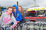 Hot Rod Racing : Attending the hot rod racing at the Kilflynn race circuit on Sunday last were  Philomena Hickey Kerrie Murphy & Jane Downey.