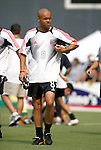 3 July 2004: Earnie Stewart before the game. DC United defeated the MetroStars 6-2 at RFK Stadium in Washington, DC during a regular season Major League Soccer game..
