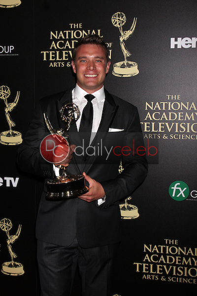 LOS ANGELES - JUN 22:  Billy Miller - Outstnading Lead Actor in a Drama at the 2014 Daytime Emmy Awards Press Room at the Beverly Hilton Hotel on June 22, 2014 in Beverly Hills, CA