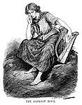 The Darkest Hour. (the symbol of Ireland, Erin, sits with a broken harp during the InterWar era)