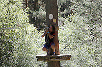 El musico, cantante y compositor Teo Cardalda componente del grupo musical Complices, durante una vista junto a familiares y amigos al Parque Aventura Amazonia de Cercedilla, Madrid.2 de Agosto de 2012..(Alterphotos/Acero) /NortePhoto.com<br />  <br /> **CREDITO*OBLIGATORIO** *No*Venta*A*Terceros*<br /> *No*Sale*So*third* ***No*Se*Permite*Hacer Archivo***No*Sale*So*third*