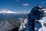Gifford Pinchot, Indian Heaven Wilderness Area, Fire Lookout, winter, Washington State, Pacific Northwest, Mount Rainer, hiker,.