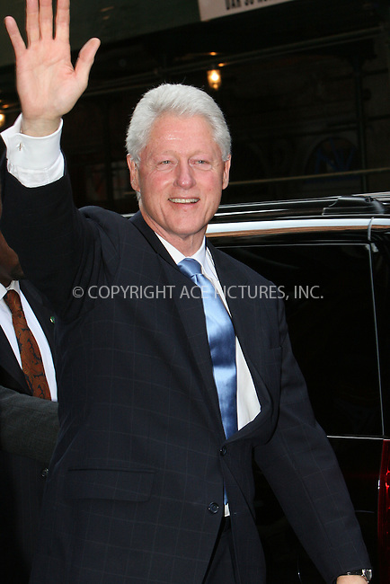 WWW.ACEPIXS.COM . . . . .  ....August 6 2009, New York City....Former president Bill Clinton was seen leaving the Scolastic store in Soho on August 6 2009 in New York City....Please byline: NANCY RIVERA- ACE PICTURES.... *** ***..Ace Pictures, Inc:  ..tel: (212) 243 8787 or (646) 769 0430..e-mail: info@acepixs.com..web: http://www.acepixs.com