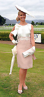 Emir Irwin O'Shea, from Killarney, winner of the Dawn Dairies Queen of Fashion award  at Killarney Races in July. Emir also won Ladies Day at the Dublin Horse Show min 2009 with an outfit she had worn at Kilalrney races only a few weeks previously.<br />  Picture: Eamonn Keogh (MacMonagle, Killarney)
