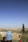 Israel, Jerusalem mountains, Radar Hill at Har Adar