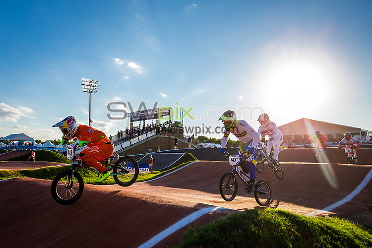 Picture by Alex Whitehead/SWpix.com - 29/07/2017 - Cycling - 2017 UCI BMX World Championships - Novant Health BMX Supercross Track, Rock Hill, USA - Netherlands' 148 VAN GENDT Twan