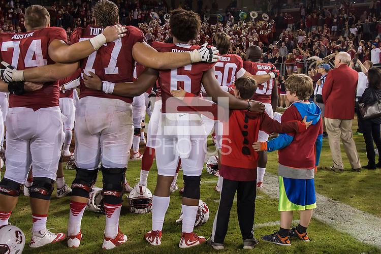 Stanford, CA, October 24, 2015<br /> Stanford Football vs. University of Washington. Stanford won 31-14.