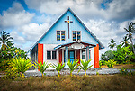 St. Stabislas Church in Poland, Kiritimati (Christmas Island), Kiribati