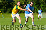 Tom Daly Firies cuts through the Castlegregory defence during their County League clash in Farranfore on Saturday evening
