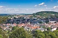 Germany, Bavaria, Lower Franconia, Bad Kissingen: view over town | Deutschland, Bayern, Unterfranken, Bad Kissingen: Stadtansicht