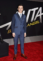 WESTWOOD, CA - FEBRUARY 05: Keean Johnson attends the Premiere Of 20th Century Fox's 'Alita: Battle Angel' at Westwood Regency Theater on February 05, 2019 in Los Angeles, California.<br /> CAP/ROT/TM<br /> &copy;TM/ROT/Capital Pictures