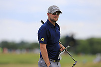 Bernd Wiesberger (AUT) on the 8th green during Saturday's Round 3 of the 117th U.S. Open Championship 2017 held at Erin Hills, Erin, Wisconsin, USA. 17th June 2017.<br /> Picture: Eoin Clarke | Golffile<br /> <br /> <br /> All photos usage must carry mandatory copyright credit (&copy; Golffile | Eoin Clarke)