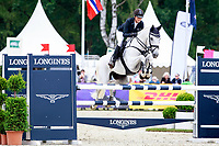 AUS-Isabel English rides Feldale Mouse during the Showjumping for the CIC3* Meßmer Trophy - German Eventing Championship,, at the 2017 Luhmühlen International Horse Trial. Sunday 18 June. Copyright Photo: Libby Law Photography