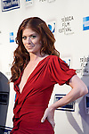 "Debra Messing at Woody Allen's new movie ""Whatever Works"" premiered April 22, 2009 at the Tribeca Film Festival - Ziegfeld Theatre, New York."