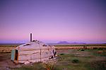 Yurt, Ger camp, Gov Altai Province, Mongolia