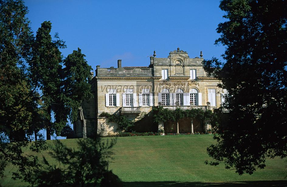 Europe/France/Aquitaine/33/Gironde/Saint-Estèphe: château Le Crocq (AOC Saint-Estèphe)