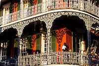 The famous cast iron restaurant in the french quarter in New Orleans, Louisiana, USA