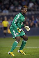 Bill Hamid (28) goalkeeper D.C Utd..Sporting Kansas City defeated D.C Utd 1-0 at Sporting Park, Kansas City, Kansas.