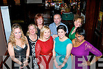 Enjoying the Kerry County Council annual Christmas party in the Grand hotel, Tralee last Saturday night were l-r: Fiona Leahy, Eileen Davis, Kay and Lisa O'Carroll, Brendan Hayes, Geraldine O'Keeffe Lyne and  Abbey Cummings.