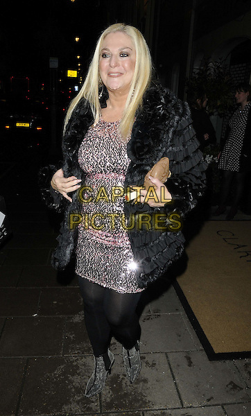LONDON, ENGLAND - JANUARY 28: Vanessa Feltz attends the Radio Times Covers Party, Claridge's Hotel, Brook St., on Tuesday January 28, 2014 in London, England, UK.<br /> CAP/CAN<br /> &copy;Can Nguyen/Capital Pictures