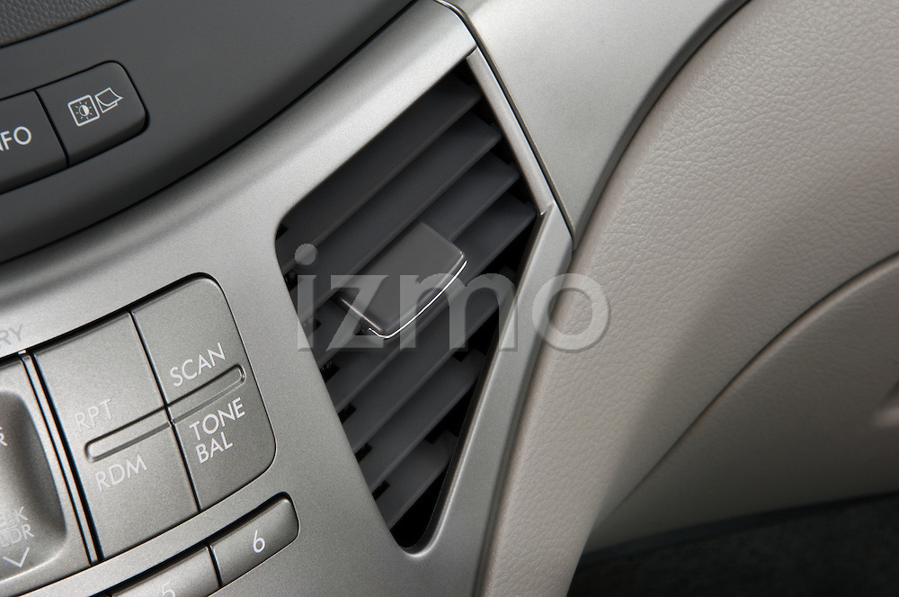 Studio photography on white background of a 2008 Subaru Tribeca SUV