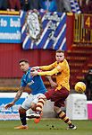31.3.2018: Motherwell v Rangers: <br /> James Tavernier and Chris Cadden