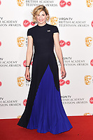 Jodie Whittaker<br /> in the winners room for the BAFTA TV Awards 2018 at the Royal Festival Hall, London<br /> <br /> ©Ash Knotek  D3401  13/05/2018