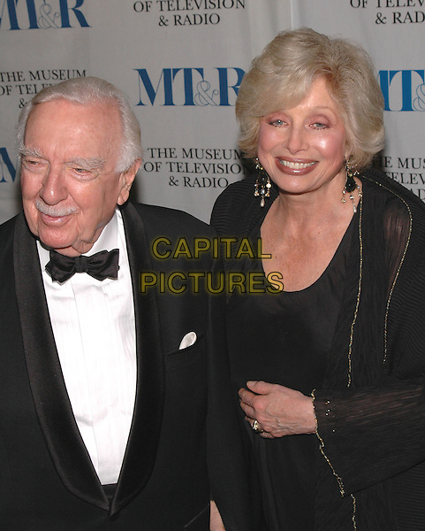 WALTER CRONKITE.arrives at The Museum of Television and Radio's Annual Gala where Merv Griffin is being honored for his award winning career in radio and television..New York, New York, USA, 26 May 2005..half length.Ref: ADM.www.capitalpictures.com.sales@capitalpictures.com.©Patti Ouderkirk/AdMedia/Capital Pictures.