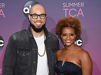 05 August 2019 - West Hollywood, California - Peter Saji, Karin Gist. ABC's TCA Summer Press Tour Carpet Event held at Soho House.   <br /> CAP/ADM/BB<br /> ©BB/ADM/Capital Pictures