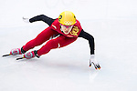 Qiuhong Liu of China during the Short Track Speed Skating as part of the 2014 Sochi Olympic Winter Games at Iceberg Skating Palace on February 10, 2014 in Sochi, Russia. Photo by Victor Fraile / Power Sport Images
