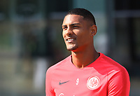 Sebastien Haller (Eintracht Frankfurt) - 05.09.2018: Eintracht Frankfurt Training, Commerzbank Arena, DISCLAIMER: DFL regulations prohibit any use of photographs as image sequences and/or quasi-video.