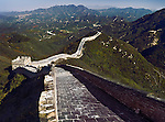 Great Wall of China mountain landscape scenery in Badaling, Beijing, China.